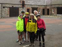Group photo at Leadhills