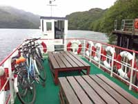 Ferry across Loch Lomond