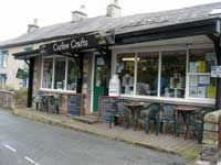 Curlew Crafts cafe, Ingleton