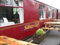 Sidings cafe, Dufftown